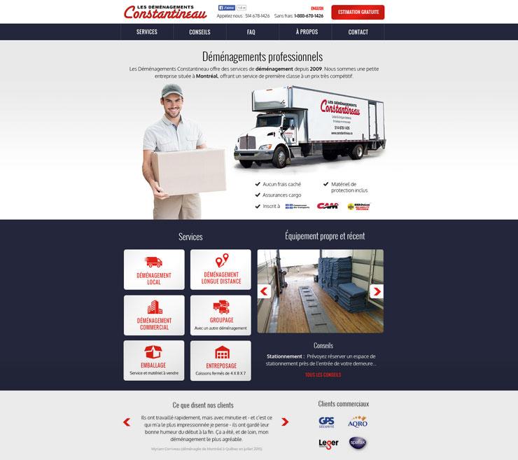 designer web montreal